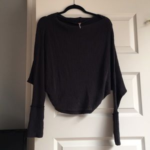 Free People Navy Blue Sweater Size Small